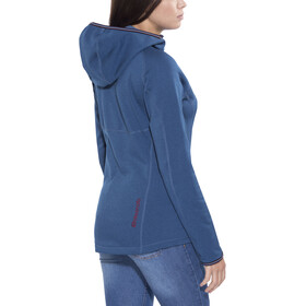 Elevenate Arpette Stretch Hood Damen dk steel blue